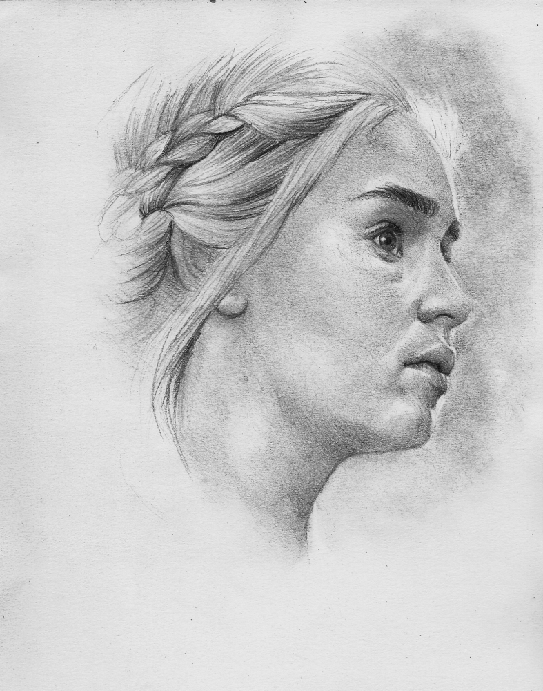 Emilia Clarke by Exalion